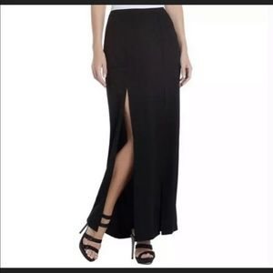 BCBGMAXAZARIA Long Skirt With Front Slits